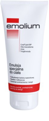 Emolium Body Care емульсія для тіла  для сухої та подразненої шкіри