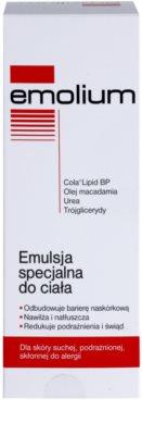 Emolium Body Care špeciálna telová emulzia pre suchú a podráždenú pokožku 2