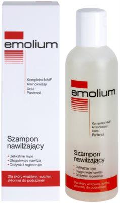 Emolium Hair Care зволожуючий шампунь для сухої та чутливої шкіри голови 1