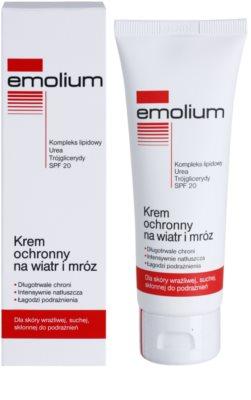 Emolium Skin Care crema protectora contra el frío y el viento SPF 20 1