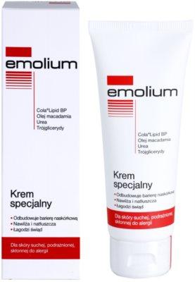 Emolium Skin Care спеціальний крем для сухої та подразненої шкіри 1