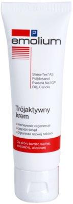 Emolium Skin Care P крем для обличчя з потрійним ефектом