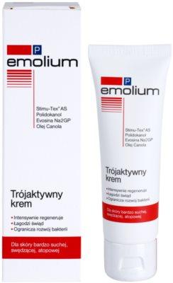 Emolium Skin Care P крем для обличчя з потрійним ефектом 1