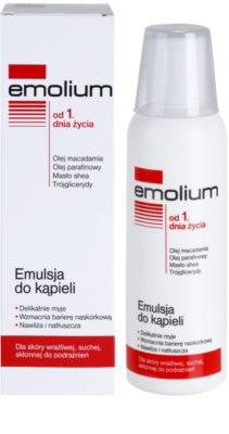 Emolium Wash & Bath emulsie de baie pentru piele uscata si sensibila 1
