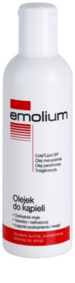 Emolium Wash & Bath óleo de banho creme SOS