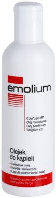 Emolium Wash & Bath олійка для ванни для сухої та подразненої шкіри