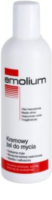 Emolium Wash & Bath gel cremoso de duche para peles secas e sensíveis