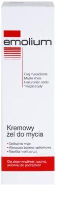 Emolium Wash & Bath gel de ducha en crema para pieles secas y sensibles 2