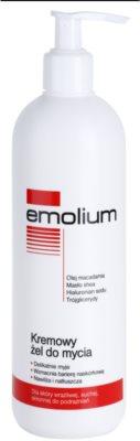 Emolium Wash & Bath krémový sprchový gél pre suchú a citlivú pokožku