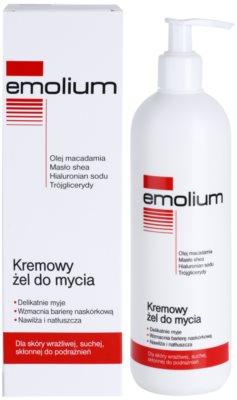 Emolium Wash & Bath kremasti gel za prhanje za suho in občutljivo kožo 1