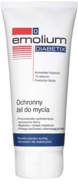 Emolium Wash & Bath Diabetix захисний гель  для сухої шкіри