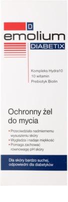 Emolium Wash & Bath Diabetix захисний гель  для сухої шкіри 2