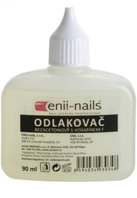 Enii Nails Care quitaesmalte de uñas sin acetona
