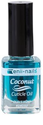 Enii Nails Cuticle Care Coconut óleo regenerativo para unhas e cutícula excendente