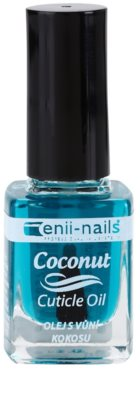 Enii Nails Cuticle Care Coconut regeneracijsko olje za nohte in obnohtno kožo