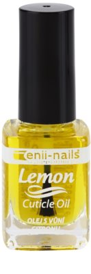 Enii Nails Cuticle Care Lemon óleo regenerativo para unhas e cutícula excendente