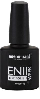 Enii Nails Week esmalte protector de uñas capa superior para uñas