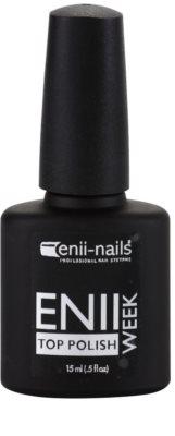 Enii Nails Week schützender Decklack für Nägel