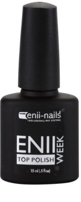 Enii Nails Week verniz top coat protetor para unhas