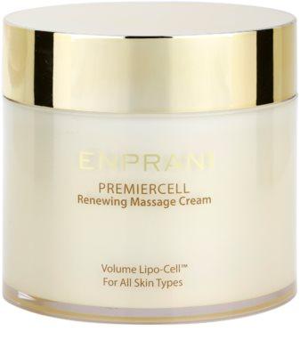 Enprani Premiercell crema regeneranta pentru masaj pentru toate tipurile de ten