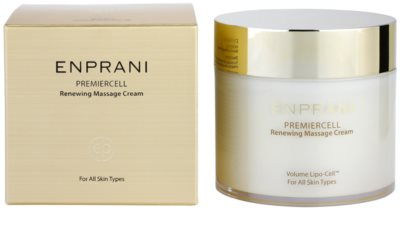 Enprani Premiercell відновлюючий масажний крем для всіх типів шкіри 2