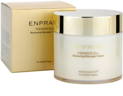 Enprani Premiercell відновлюючий масажний крем для всіх типів шкіри 3
