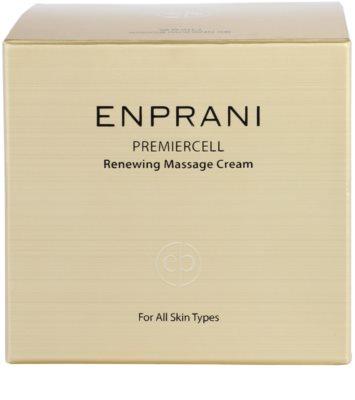 Enprani Premiercell відновлюючий масажний крем для всіх типів шкіри 4