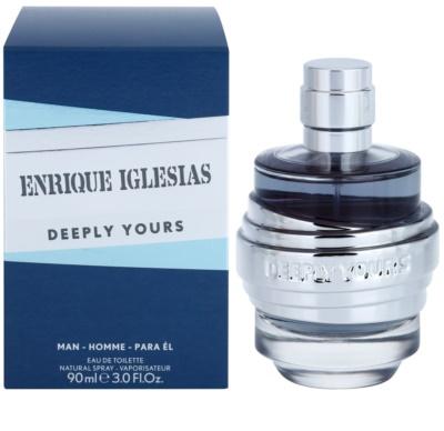 Enrique Iglesias Deeply Yours eau de toilette férfiaknak