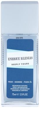 Enrique Iglesias Deeply Yours desodorante con pulverizador para hombre