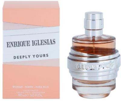 Enrique Iglesias Deeply Yours Eau de Toilette para mulheres