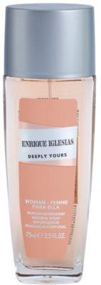 Enrique Iglesias Deeply Yours desodorante con pulverizador para mujer