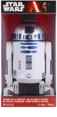 EP Line Star Wars 3D R2D2 gel de ducha y champú 2en1 1