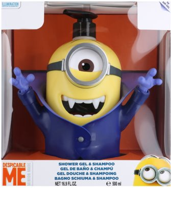 EP Line Minions 3D Dracula Shower Gel And Shampoo 2 In 1 1