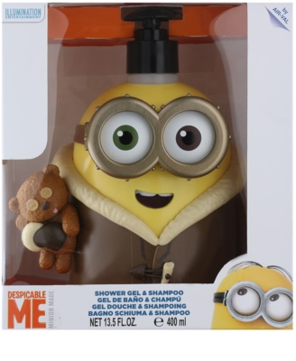 EP Line Minions 3D Eskimo Shower Gel And Shampoo 2 In 1 1