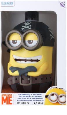 EP Line Minions 3D Pirate gel de ducha y champú 2en1 1