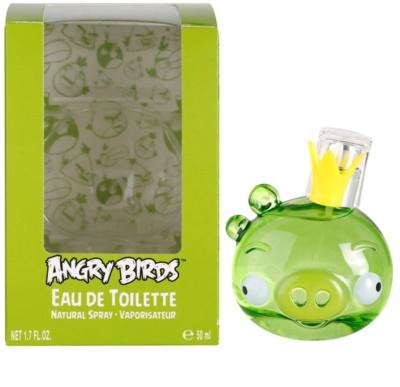 EP Line Angry Birds Green eau de toilette para niños
