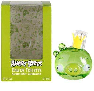 EP Line Angry Birds Green Eau de Toilette pentru copii