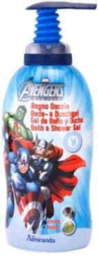 EP Line Avengers 2 in 1 spuma de baie si gel de dus pentru copii