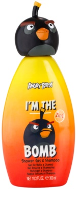 EP Line Angry Birds I'm the Bomb gel de dus si sampon 2in1