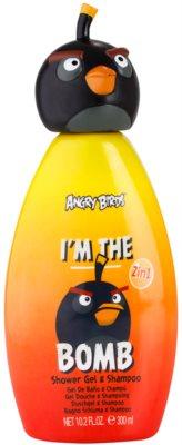 EP Line Angry Birds I'm the Bomb sampon és tusfürdő gél 2 in 1