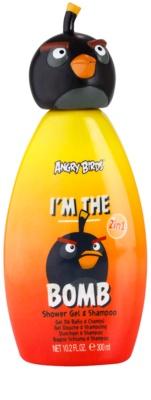EP Line Angry Birds I'm the Bomb šampon in gel za prhanje 2v1
