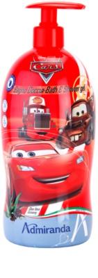 EP Line Cars 2 2 in 1 spuma de baie si gel de dus pentru copii