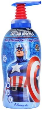 EP Line Captain America Dusch- und Badgel für Kinder