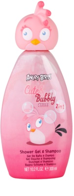 EP Line Angry Birds Cute Bubbly šampon in gel za prhanje 2v1
