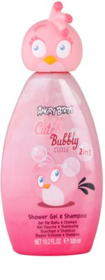 EP Line Angry Birds Cute Bubbly Shampoo & Duschgel 2 in 1