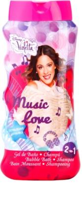 EP Line Disney Violetta 2 in 1 spuma de baie si gel de dus