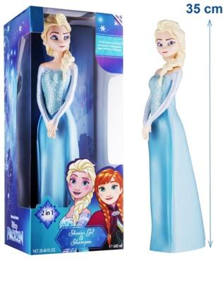EP Line Ledové Království 3D Elsa sprchový gel a šampon 2 v 1