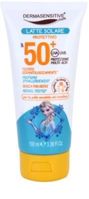 EP Line El Reino Helado Frozen leche bronceadora SPF 50+