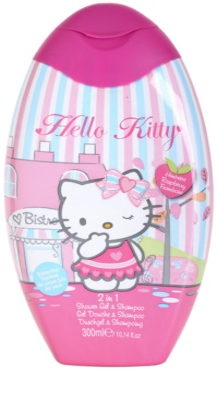EP Line Hello Kitty gel za prhanje in šampon 2v1