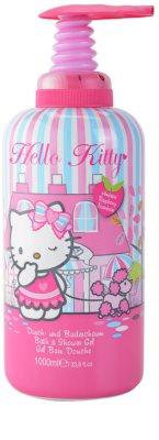 EP Line Hello Kitty 2 in 1 spuma de baie si gel de dus pentru copii